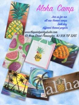 NEW! Aloha Themed Camp