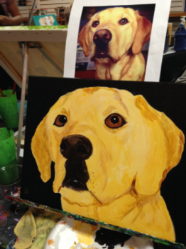 Paint Your Pet Instructor: Eileen/Mare