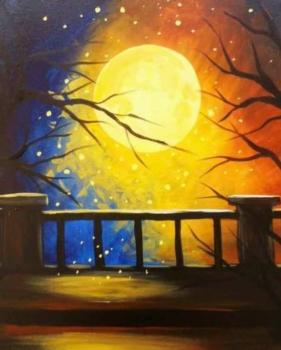 Offsite:Painting Under the Stars Hunterdon Medical Center Instructor Eileen/Mare
