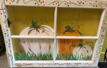 Fall Window Art Instructor: Eileen