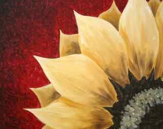 Fall  Sunflower instructor : Eileen