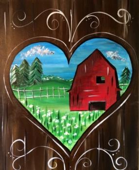Keyhole Barn