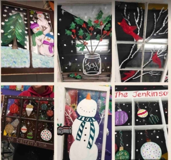 Paint a Holiday Window Instructor: Eileen