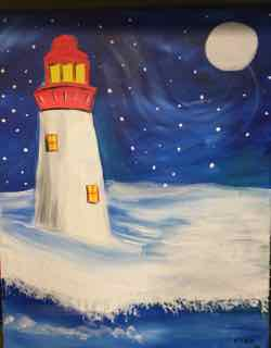 Winter Lighthouse Instructor: