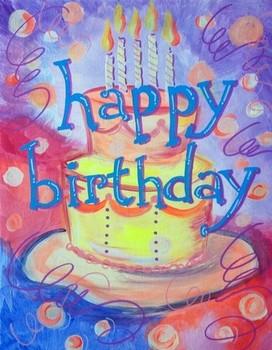 Happy Birthday Cecilia Instructor: Maricha