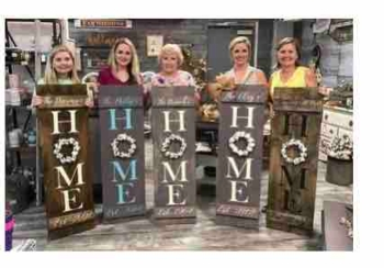 Hammer an Stain DIY Home Shutter Workshop Instructor: Eileen/Mare