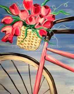 Floral Bike