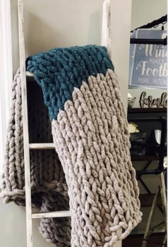 COZY BLANKET WORKSHOP