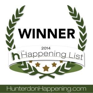 Hunterdon Happening List Winner 2014